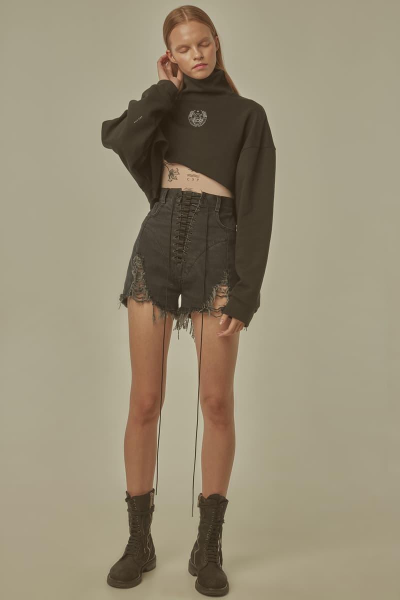 TTSWTRS Spring Summer 2019 Lookbook Hoodie Shorts Grey