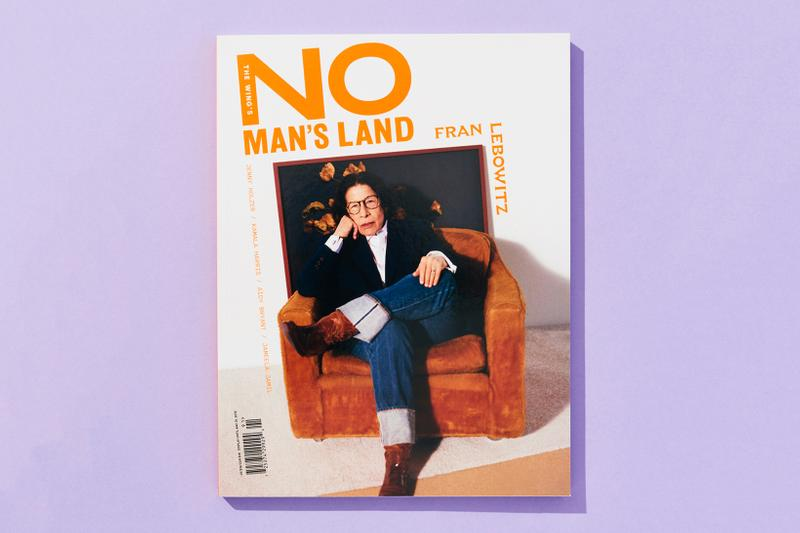The Wing Spring 2019 Issue 3 No Man's Land Fran Lebowitz Jacket Black Pants Blue