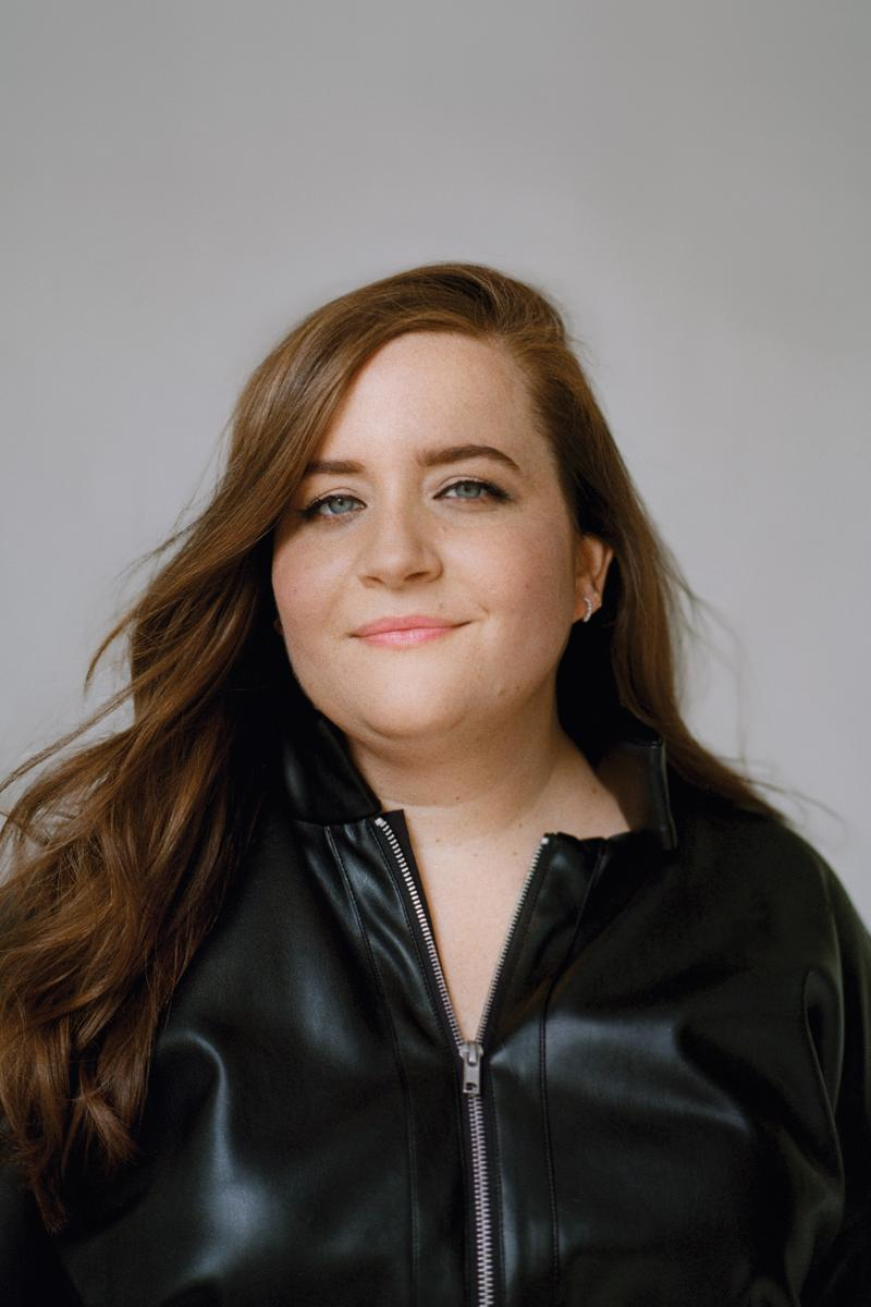 The Wing Spring 2019 Issue 3 No Man's Land Aidy Bryant Jacket Black