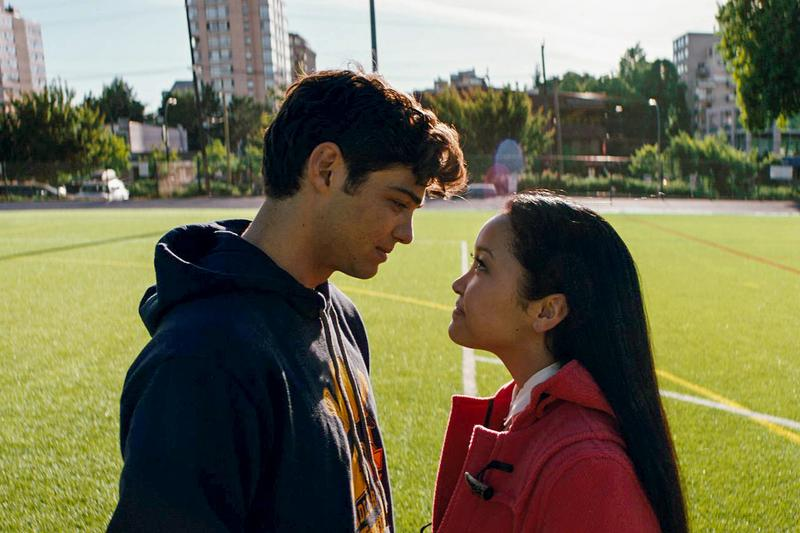 To All the Boys I've Loved Before Lana Condor Noah Centineo Hoodie Black Jacket Red