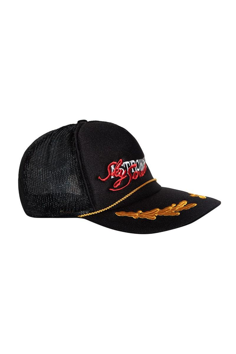 Travis Scott Astroworld Merch Collection Trucker Hat Black