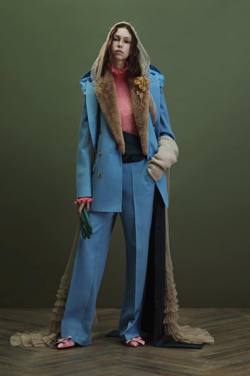 UNDERCOVER Fall Winter 2019 Collection Suit Blue