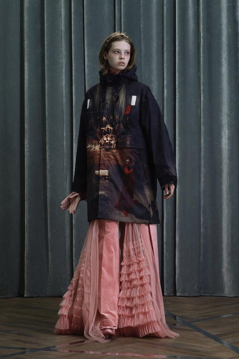 UNDERCOVER Fall Winter 2019 Collection Hoodie Black Skirt Pink