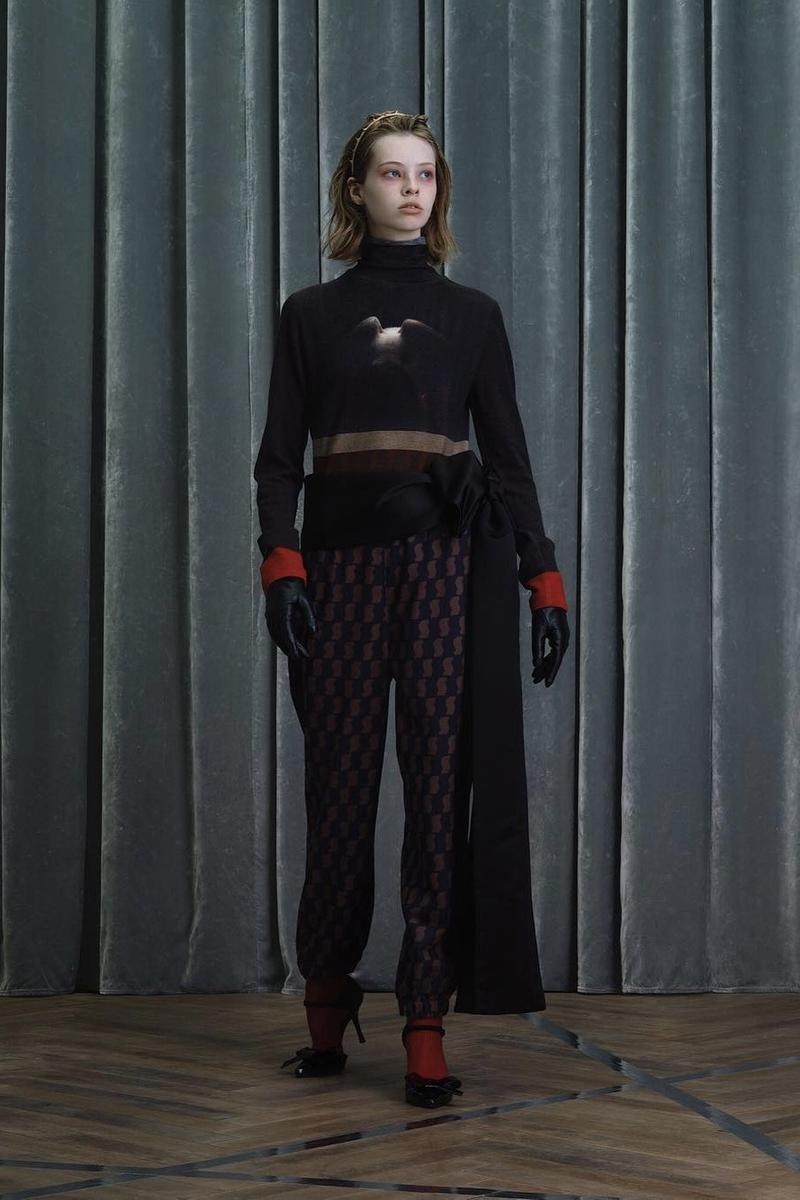 UNDERCOVER Fall Winter 2019 Collection Top Pants Black