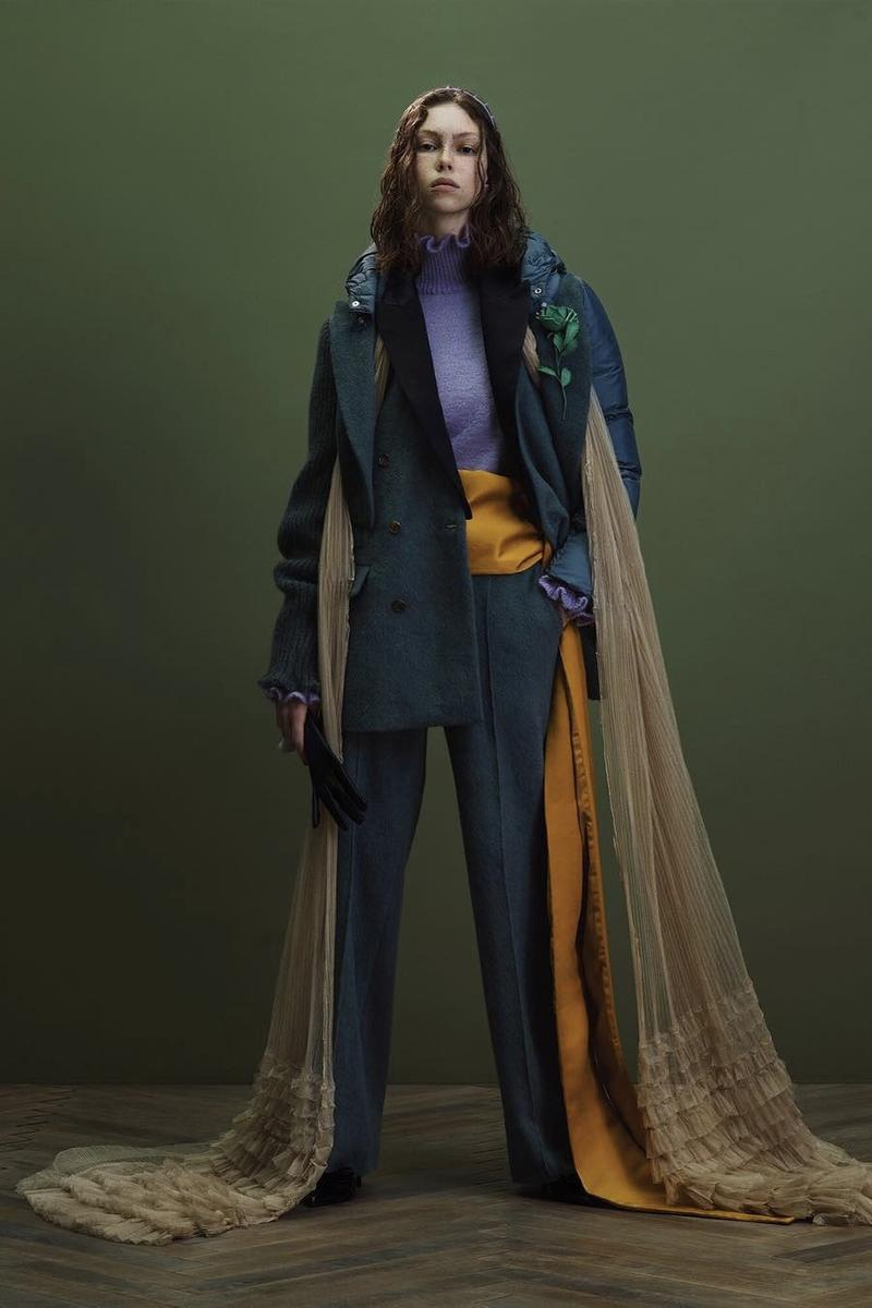 UNDERCOVER Fall Winter 2019 Collection Jacket Pants Blue Tulle Yellow