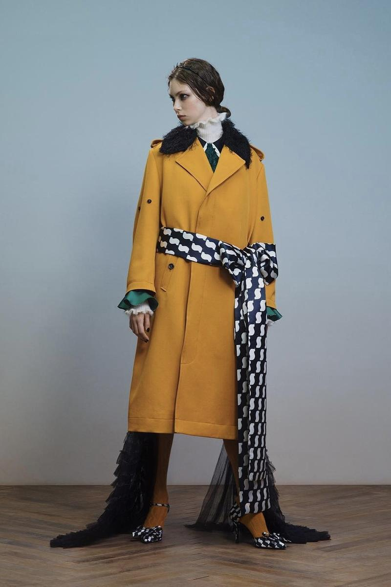 UNDERCOVER Fall Winter 2019 Collection Jacket Yellow Black White