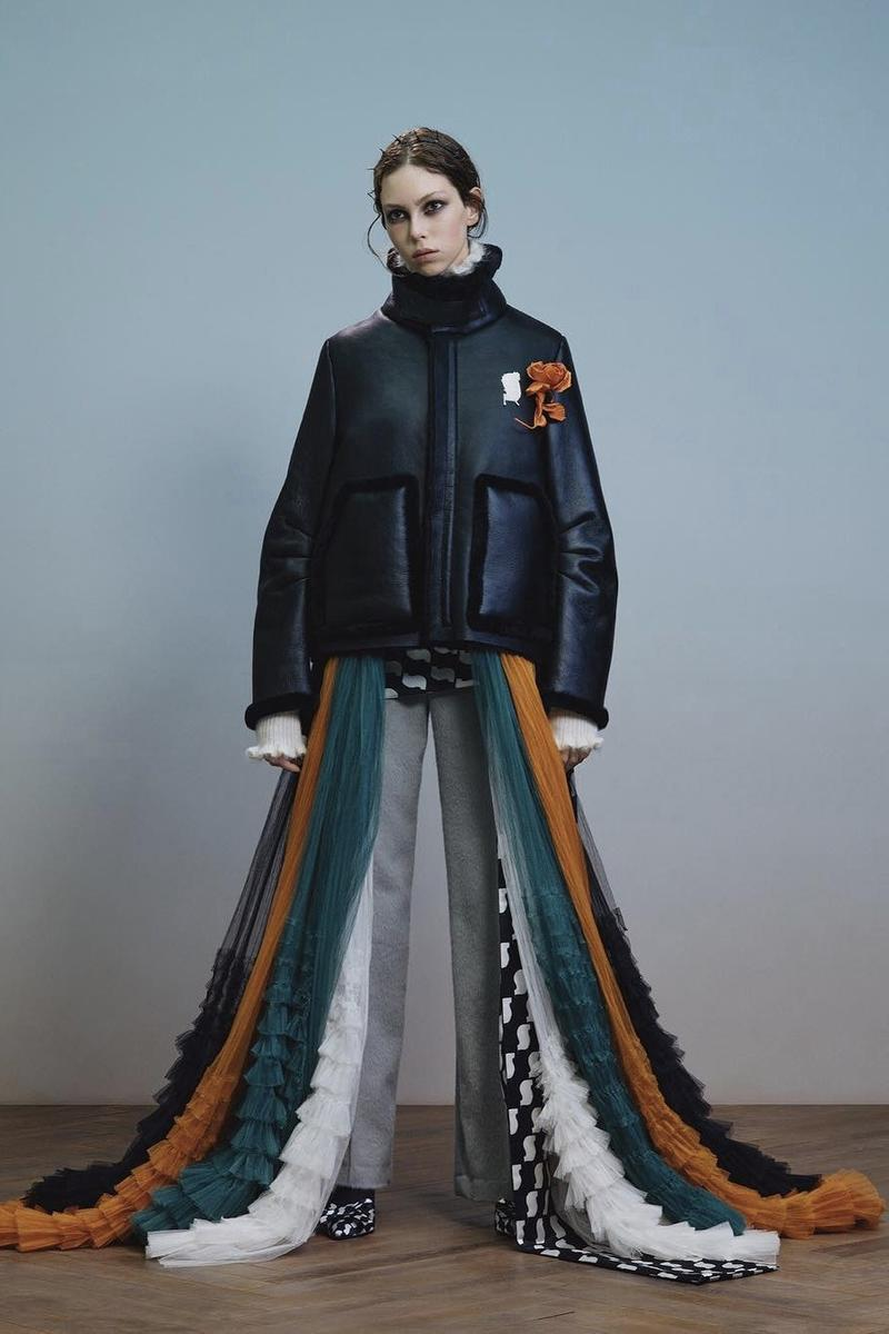 UNDERCOVER Fall Winter 2019 Collection Puffer Coat Black