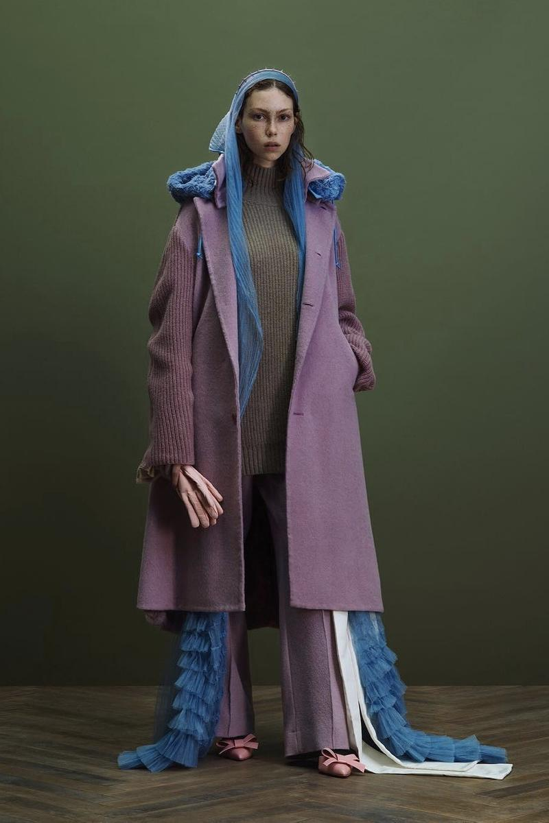 UNDERCOVER Fall Winter 2019 Collection Jacket Purple Blue