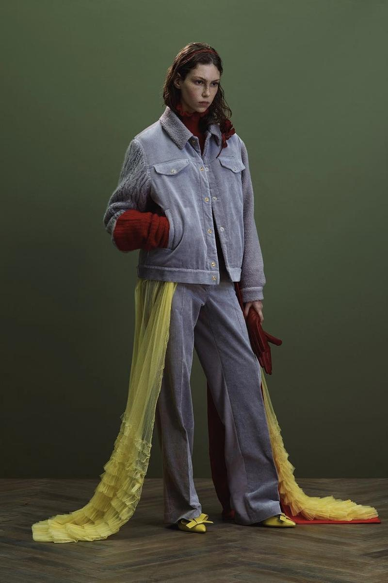 UNDERCOVER Fall Winter 2019 Collection Jacket Pants Blue