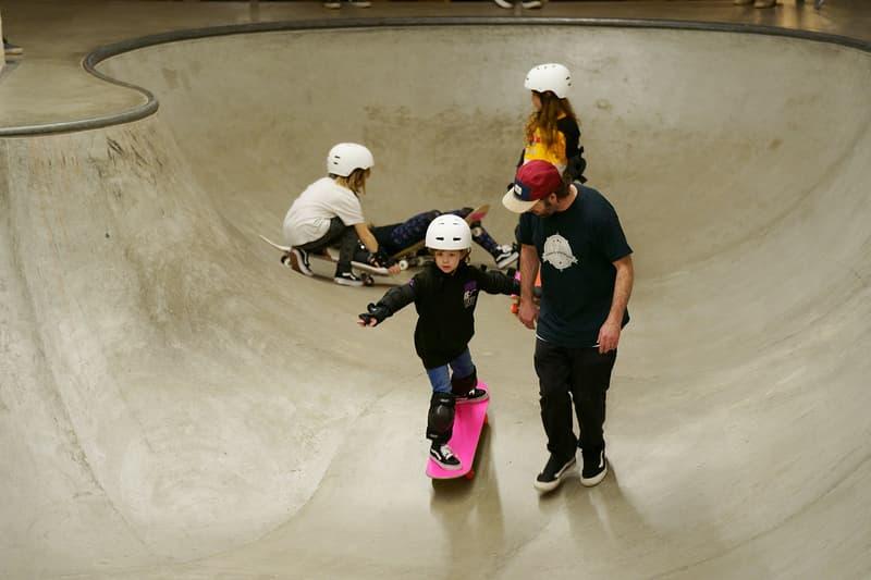The Vans Girls Skate Workshop Inspired Females