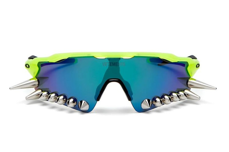 e1d2b250c1 Vetements x Oakley s SS19 Spiked Sunglasses Are Available Now