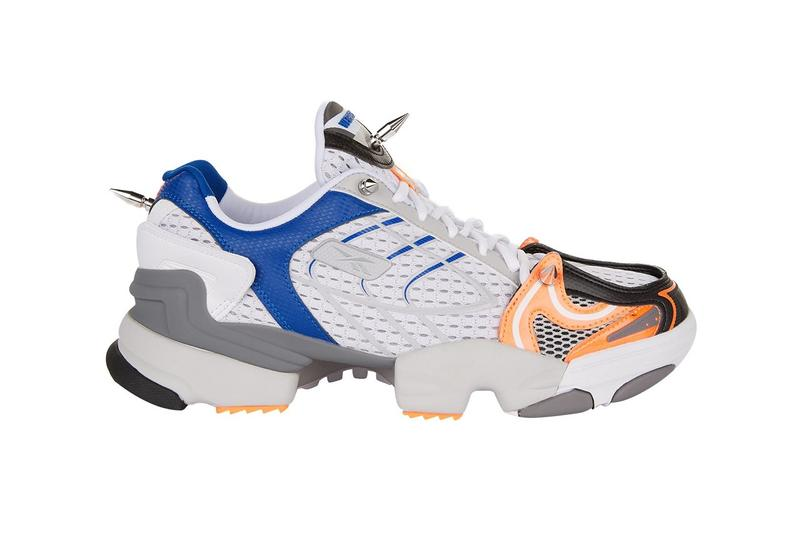 Vetements x Reebok Spike 400 Runner White Blue Grey