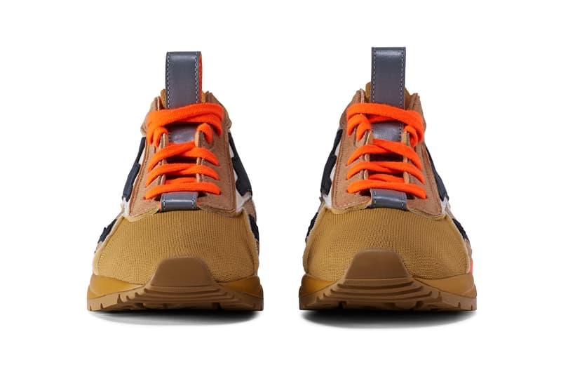 Victoria Beckham x Reebok Bolton Sock Lo Wild Khaki Sahara Solar Orange