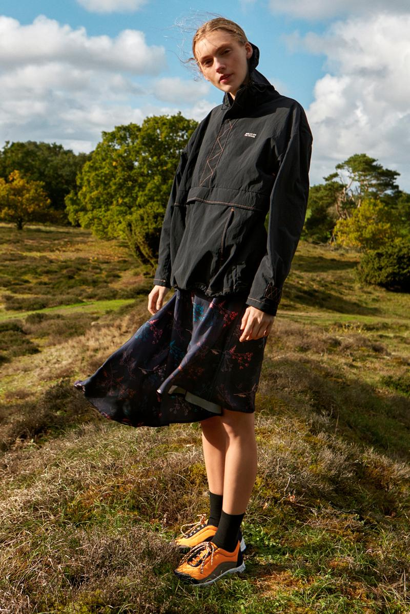 Wood Wood Spring Summer 2019 Outside Collection Lookbook Sporty Technical Jacket Skirt