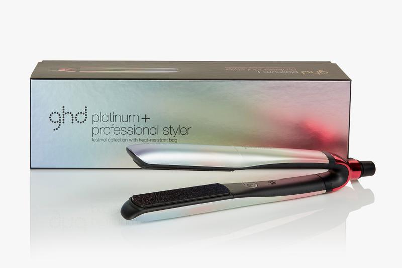Ghd Festival Rainbow Ombré Styler Platinum Gold Air Hair Dryer
