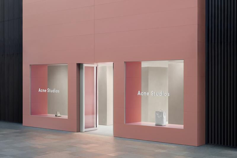 Acne Studios Chengdu China Store Opening Jonny Johansson New Retail Space Taikoo Li Mall Location