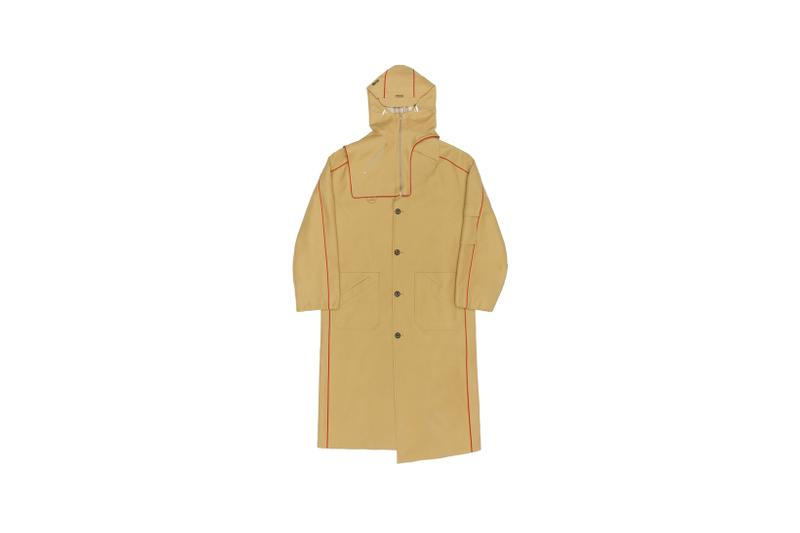 Ader Error x SSENSE Cycling Club Capsule Trench Coat Beige