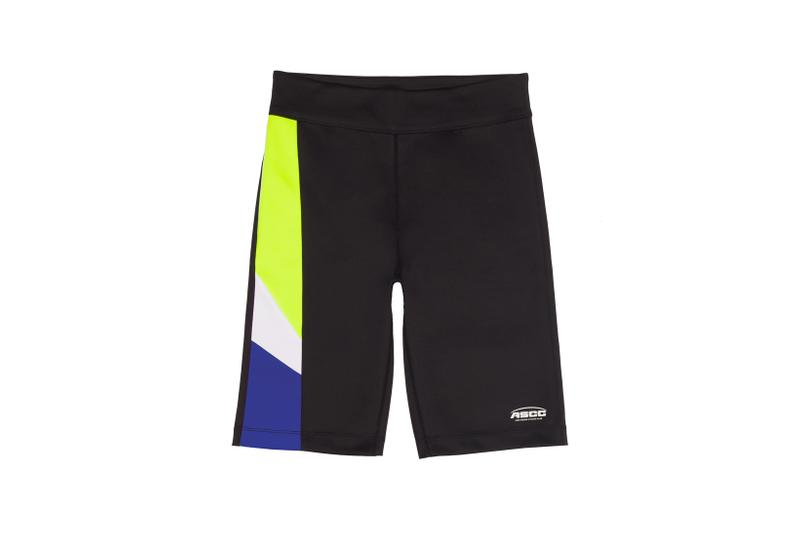 Ader Error x SSENSE Cycling Club Capsule Bicycling Shorts Black