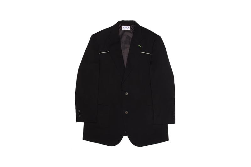 Ader Error x SSENSE Cycling Club Capsule Oversized Twill Blazer Black