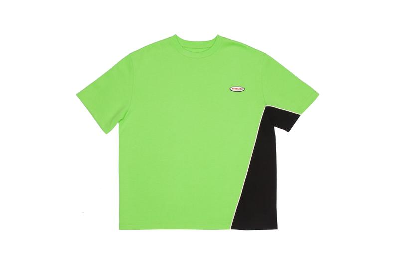Ader Error x SSENSE Cycling Club Capsule Regular Fit T-shirt Green Black
