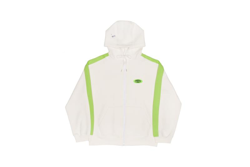Ader Error x SSENSE Cycling Club Capsule Jacket White Green