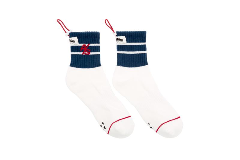 Ader Error x SSENSE Cycling Club Capsule Drawstring Socks White