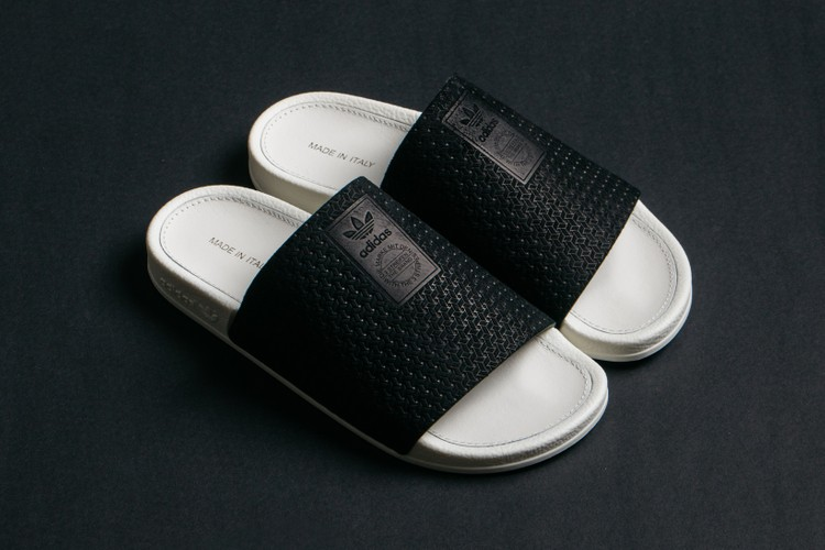 307624f53734 adidas  Adilette Luxe Slides Just Dropped in