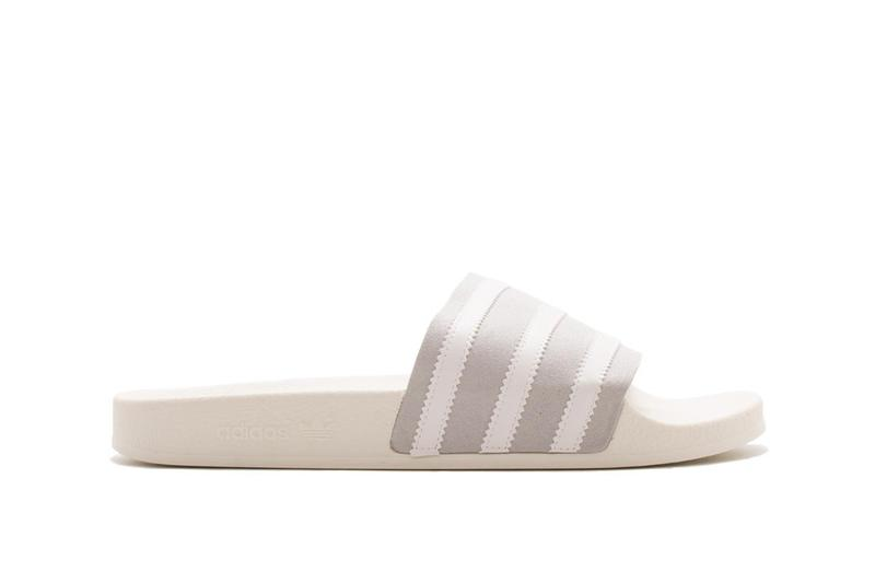 adidas Adilette Slides Grey Two