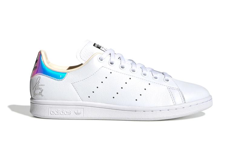 adidas Originals Stan Smith Cloud White Ecru Tint Silver Metallic