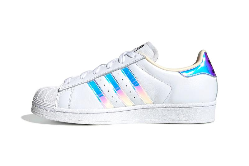 adidas Originals Superstar 80s Cloud White Silver Metallic Ecru Tint