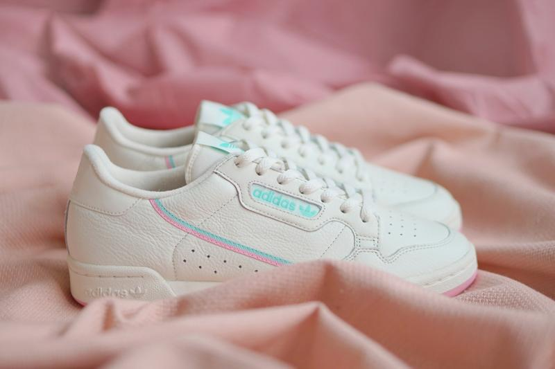 adidas Originals Continental 80 Off White True Pink