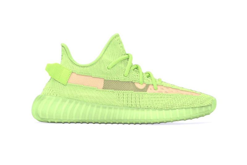 "adidas YEEZY BOOST 350 V2 ""Glow in the Dark"" Release Date Kanye West Neon Bold Green Orange Drop Day"
