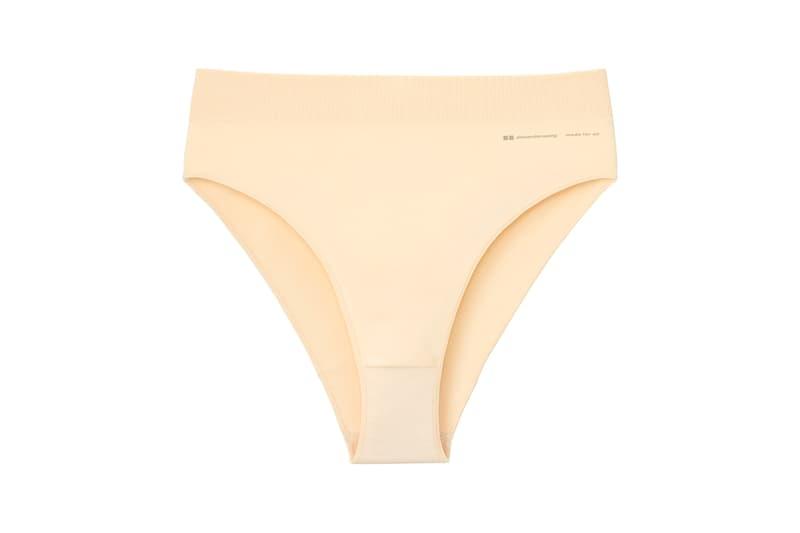 Alexander Wang x Uniqlo Airism Capsule Seamless Bikini Shorts Natural