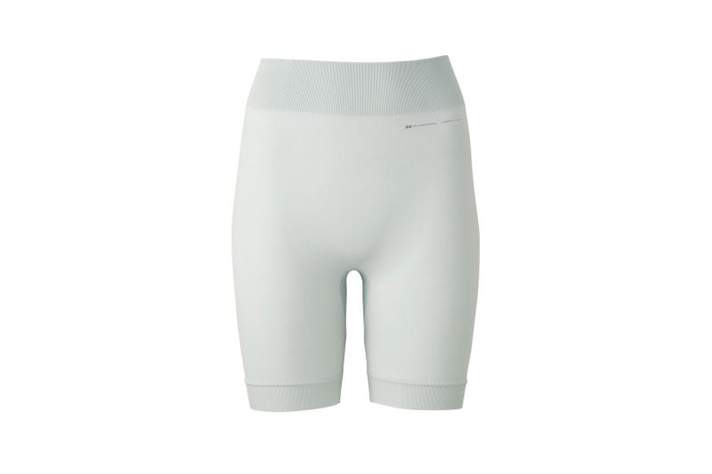 Alexander Wang x Uniqlo Airism Capsule Seamless Half Leggings Light Gray