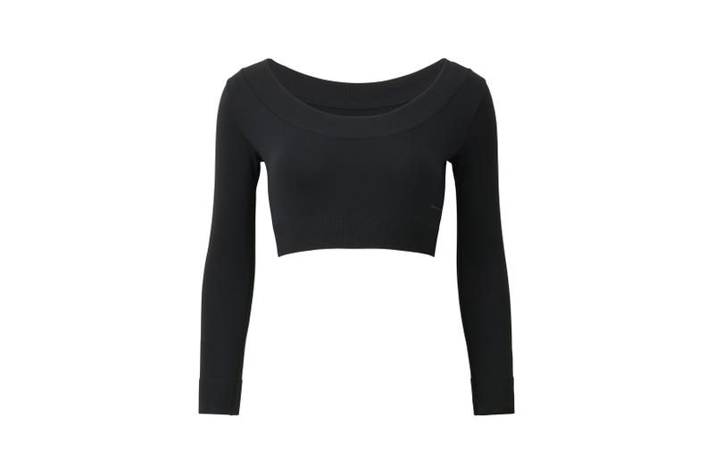 Alexander Wang x Uniqlo Airism Capsule Long Sleeved T Shirt Black