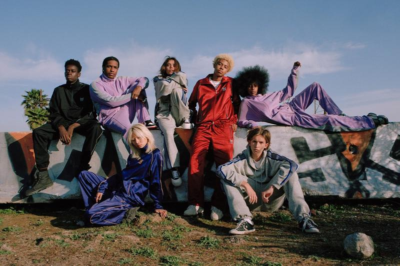 ASAP Rocky AWGE x Needles Spring Summer 2019 Collection Tracksuits Purple Lilac Red Black