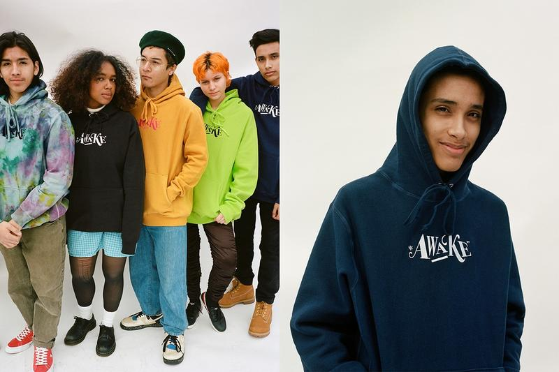 Awake NY Spring 2019 Teaser Capsule Hoodies Tie Dye Black Yellow Green Navy