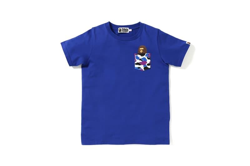 BAPE Hong Kong 13 Anniversary Collection Shirt Blue