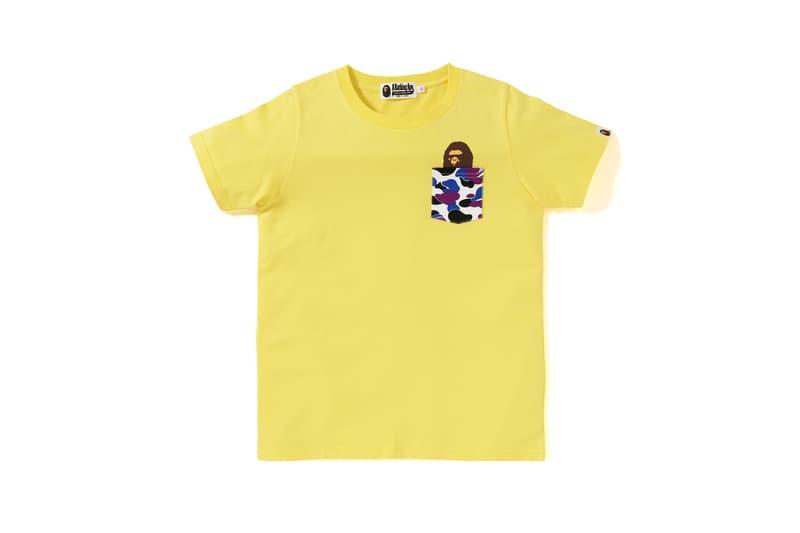 BAPE Hong Kong 13 Anniversary Collection Shirt Yellow