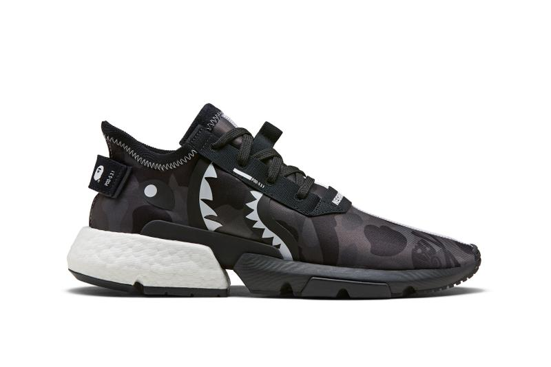 release date: 8efa4 6e1ed BAPE x Neighborhood x adidas Originals POD S 3.1 Grey Black White