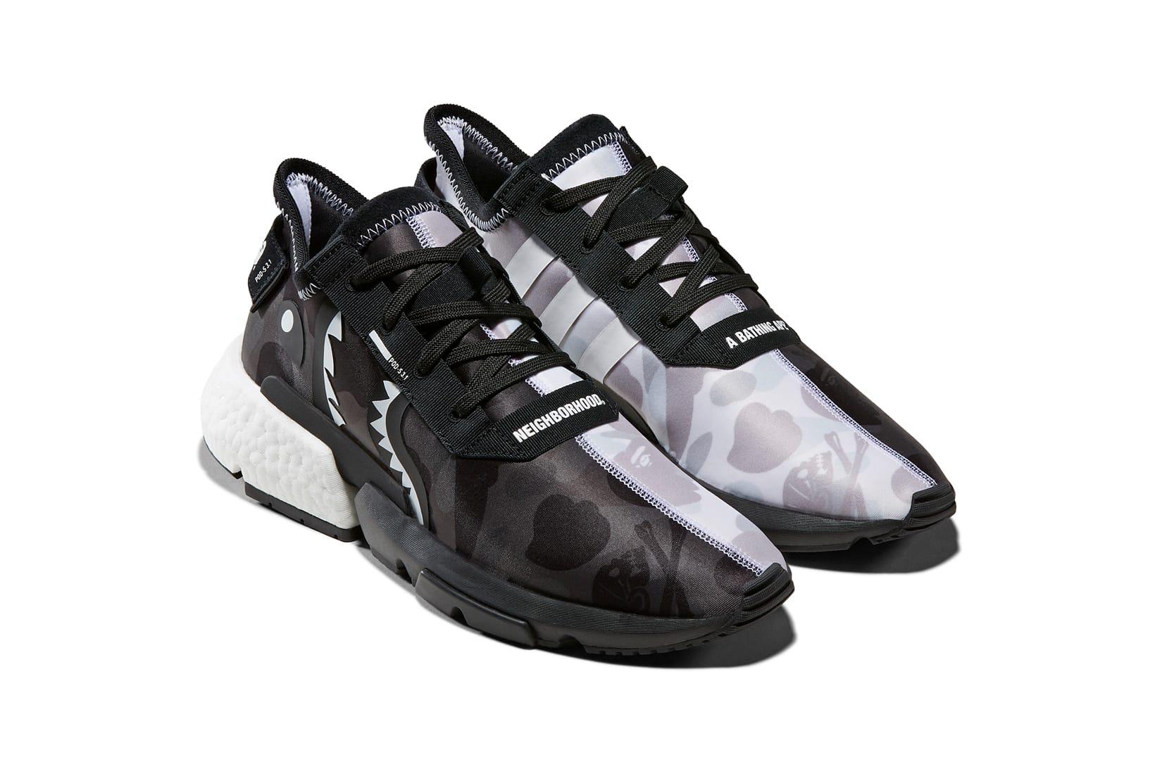 BAPE x Neighborhood x adidas Sneaker
