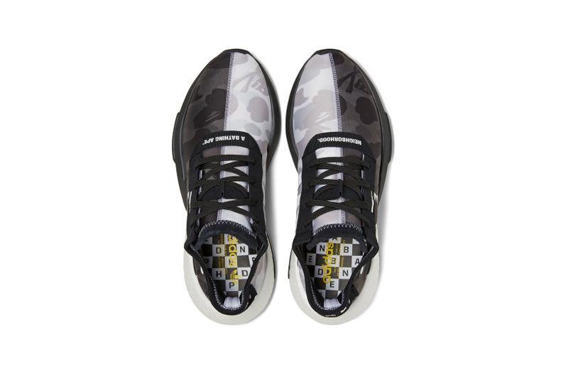 BAPE x Neighborhood x adidas Originals POD S 3.1 Grey Black White