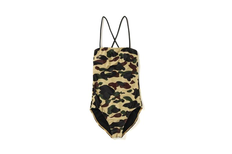 4e15c06e48 BAPE Swimsuits in Camo and Khaki | HYPEBAE