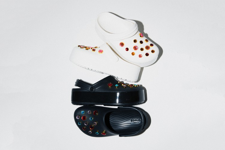 baf1c5daf8da Post Malone Just Released a Collaboration With Crocs · BEAMS   Crocs   Latest Collab Features a Bejeweled Platform Clog