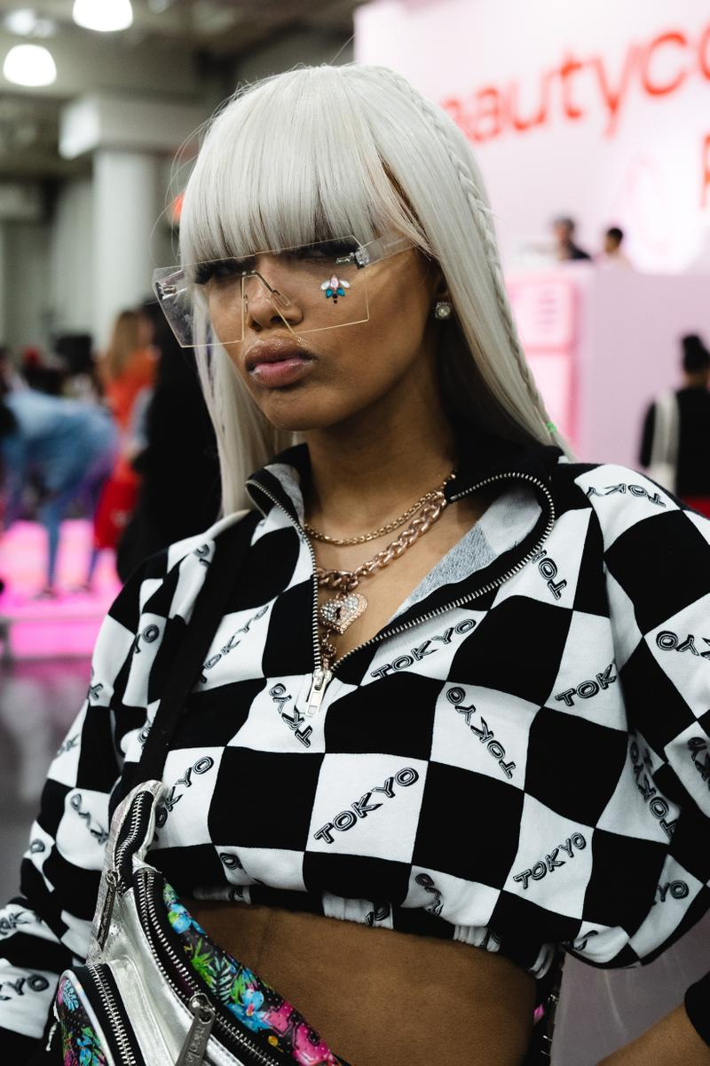 Best Beauty Looks Beautycon New York City Top Black White