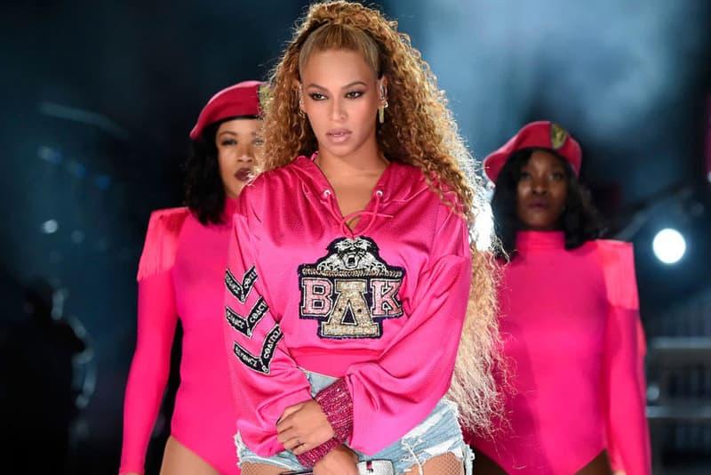 Beyonce Knowles Coachella 2018 Balmain Hoodie Pink