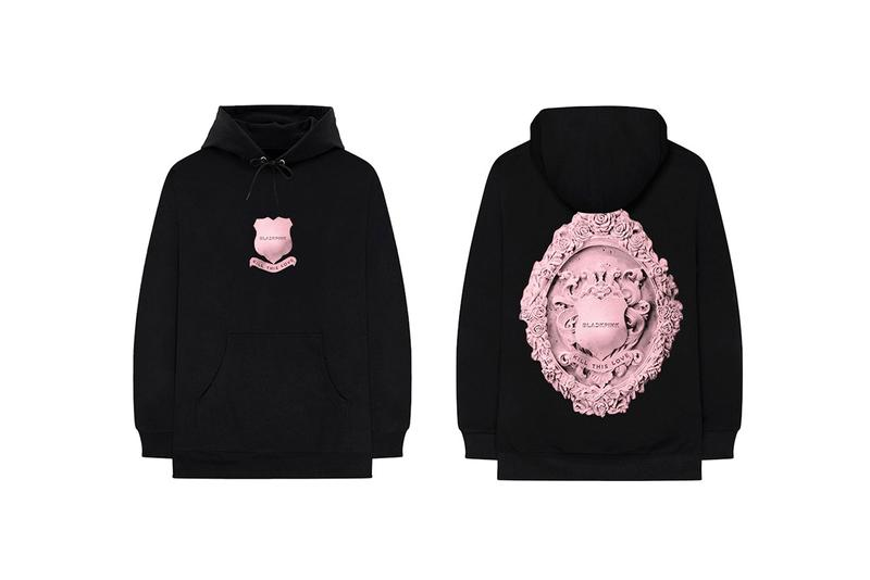BLACKPINK Kill This Love Merch Drop Hoodies Black Pink Logo Album Music Video Hoodie