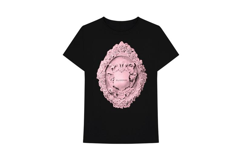 BLACKPINK Kill This Love Merch Drop T-Shirt Black Pink Logo Album Music Video