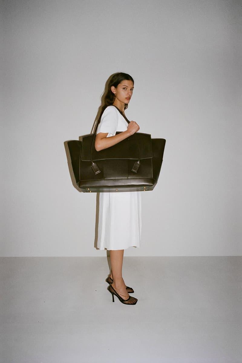 Bottega Veneta The Arco Bag Daniel Lee Pre-Fall 2019 Lookbook Olive Green Big Large