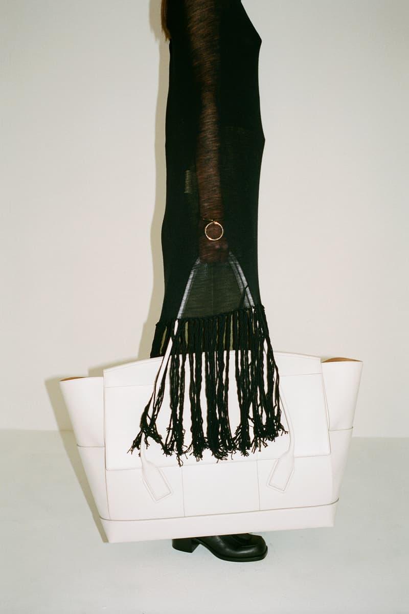 Bottega Veneta The Arco Bag Daniel Lee Pre-Fall 2019 Lookbook White Big Large